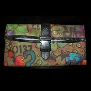 LeSportsac Graffiti Clutch